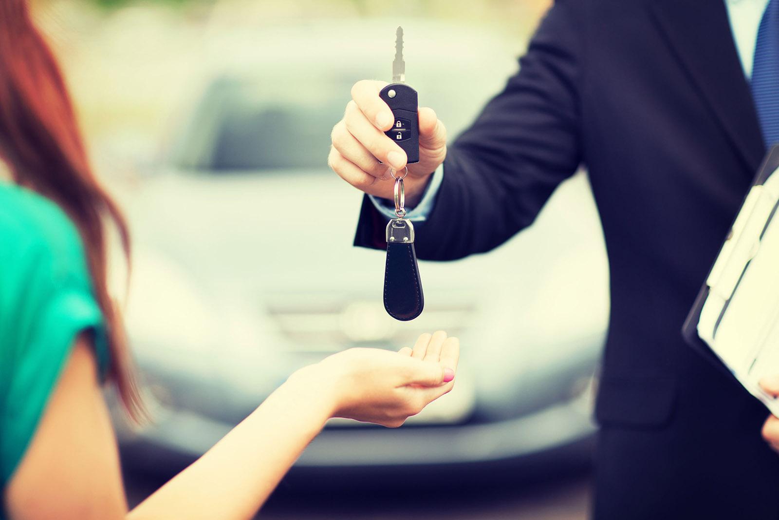 vendeur voiture
