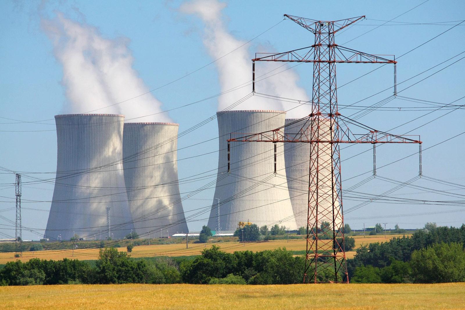 usine électricité nucléaire