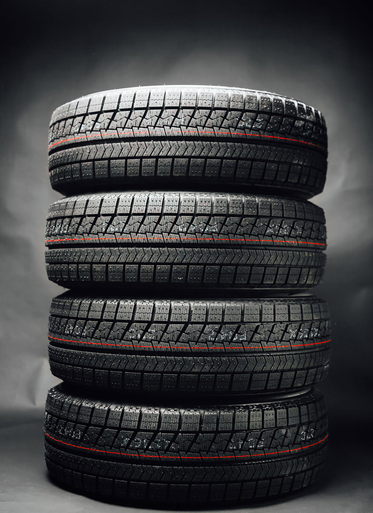 pneus empilés